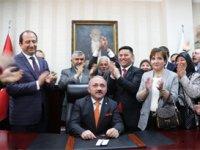 Çankırı'da İsmail Hakkı Esen başkanlık koltuğunda