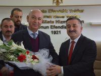 Mehmet Öztürk Ilgaz'da başkanlık görevini devraldı