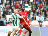 Atiker Konyaspor: 1 - Demir Grup Sivasspor: 1