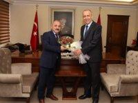 Çankırı Belediye Başkanı Esen'den Vali Aktaş'a ziyaret