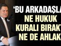 Haşim Kılıç: Bu arkadaşlar ne pozitif hukuk kuralı bıraktı ne de ahlak!