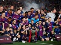 İspanya La Liga şampiyonu Barcelona