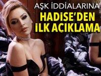 Aşk iddialarına Hadise'den açıklama geldi!