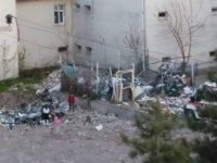 Çankırı Devlet Hastanesi'nin çöpü halk sağlığını tehdit ediyor