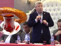 Milli Görüş toplantısında 'simitçi' Akbaşoğlu'na soğuk duş!