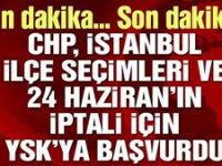 CHP'den YSK'ya iptal başvurusu!