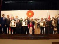 Çankırı'da şehit ailelerine Devlet Övünç Madalyası ve Beratı verildi