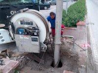 Çankırı Belediyesi'nden yağmur suyuna karşı önleyici tedbirler