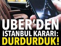 UBER XL servisi Türkiye'de bitti!