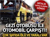 Bandırma'da feci otobüs kazası: 4 ölü 48 yaralı