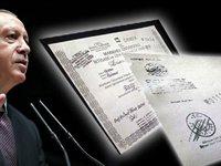 Erdoğan'ın 'fotokopi diploma'sında bir skandal daha!
