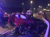 Üsküdar'da motosiklet kazası: 1 ölü, 2 yaralı