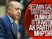 Erdoğan: 31 Mart'a seçimin galibi Cumhur İttifakı
