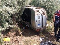 Mezuniyet töreninden dönen otomobil takla attı: 4 ölü, 1 yaralı