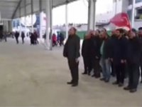 İSPARK çalışanlarının Binali Yıldırım tekmili