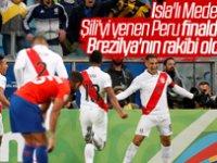 Peru Şili'yi geçerek finale kaldı