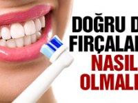 Doğru diş fırçalama nasıl olmalıdır?