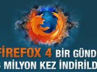 Firefox 4 bir günde 6 milyon kez indirildi