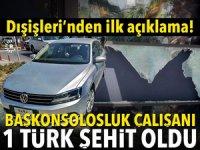 Erbil'de patlama! Türk diplomat şehit oldu
