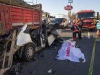 Ankara'da trafik kazası: Bir ölü