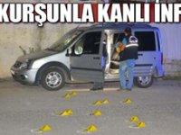 Adana'da araçta kanlı infaz!