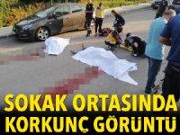 Kocaeli'de dehşet! Sokak ortasında önce eski eşini sonra kendisini vurdu