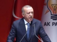 Erdoğan'dan parti içine mesaj: Bayrağı bırakmalıdır