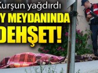 Bursa'da, köy meydanında dehşet: 1 ölü, 1 ağır yaralı
