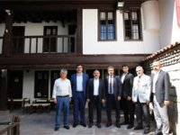 Çankırı Belediye Başkanı Esen, siyasi parti il başkanlarıyla buluştu