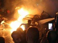 Mısır'da trafik kazası sonrası patlama: 19 ölü