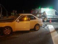 Manisa' korkunç kaza!.. Feci şekilde can verdiler!