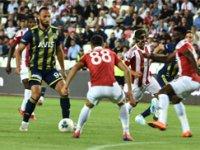 Cumhuriyet Kupası. Fenerbahçe'yi 2-1 mağlup eden Sivasspor'un