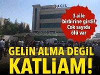Diyarbakır'da gelin kavgası: 6 Ölü, 7 yaralı
