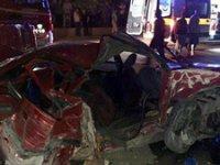 Başkent'de yaşanan kaza 2 can aldı