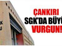 Çankırı SGK'da çalışan personel 'emekli edeceğim' vaadi ile 800 bin lira çarptı!