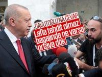 Erdoğan'dan Davutoğlu'na hodri meydan