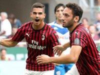 Milan'a 3 puanı Hakan Çalhanoğlu kazandırdı