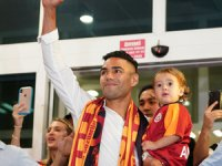 Galatasaray'ın flaş transferi Radamel Falcao İstanbul'da