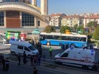 Ankara'da halk otobüsü durağa daldı: 4 Ölü