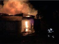 Son dakika... Çankırı/Yapraklı'da yangın! Bir ev tamamen yandı!