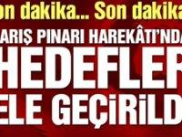 Barış Pınarı Harekâtı'nda hedefler ele geçirildi