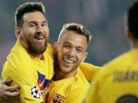 Barcelona kazanmasını bildi