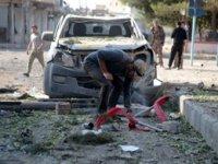 Barış bölgesinde teröristlerden intihar saldırısı: Yaralılar var