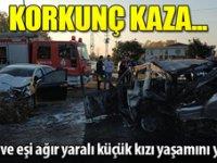 Samsun'da yargı dünyasını yasa boğan kaza