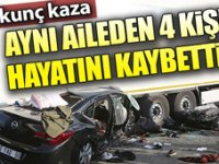 Çorum-Ankara karayolunda fecikaza! Aynı aileden 4 kişi öldü