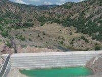 Çankırı Dere Çatı Göleti tamamlandı