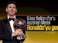 Ballon d'Or'un bu yılki sahibi Messi oldu