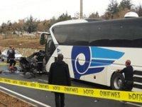 Kırşehir'de feci kaza! 3 Ölü, 1 yaralı