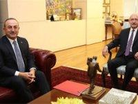 Dışişleri Bakanı'ndan CHP'ye tezkere ziyareti