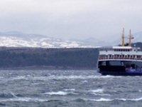 Deniz ulaşımına fırtına engeli! Bazı seferler iptal